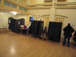 Typical Polling Booths in USA