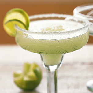 freshly made margaritas