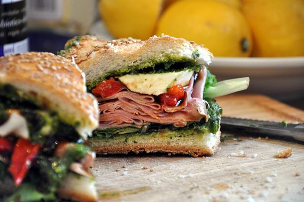Mortadella Sandwich Bread And Mortadella Sandwich